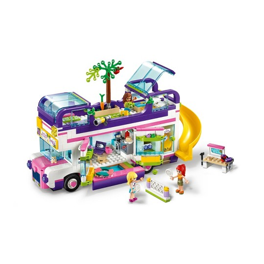 LEGO Friends Friendship Bus 41395 LEGO Playhouse Building Kit image number null