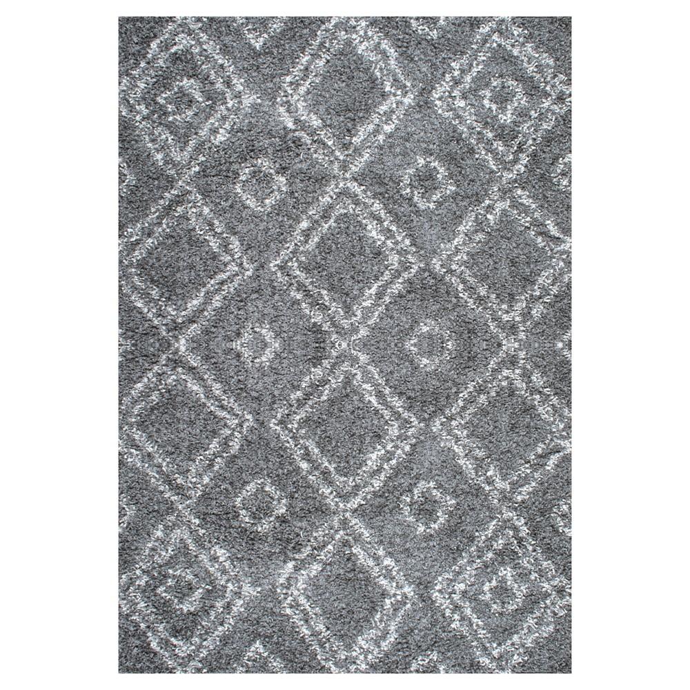nuLOOM Iola Easy Shag Area Rug - Gray (9' 2 x 12')