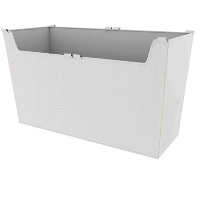 Rev-A-Shelf CBLSL-301417-T-1 29 Inch Wide by 16.5 Inch Height Washable Canvas Cloth Sidelines Closet Basket Liner with Velcro Tabs, Tan