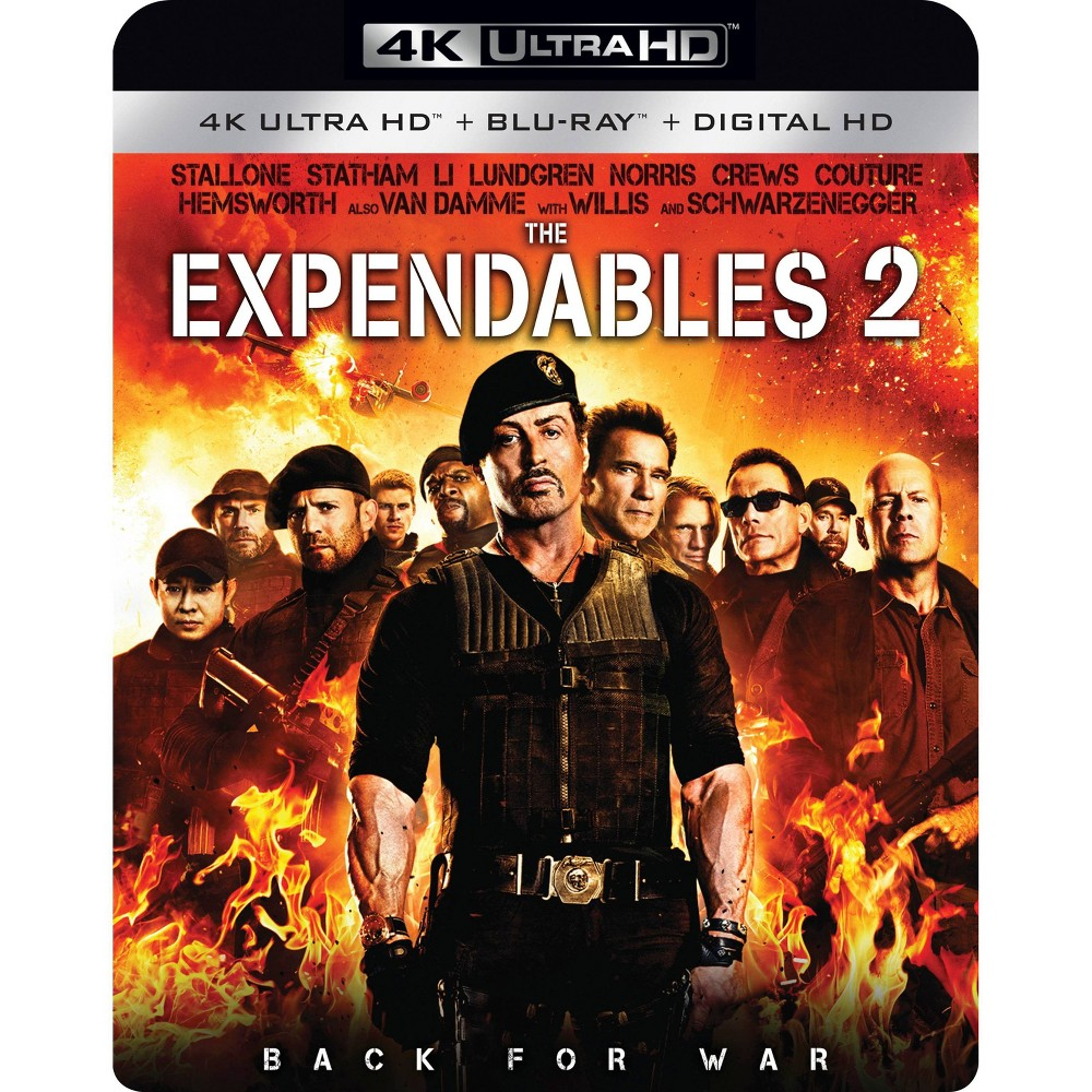 Expendables 2 (4K/Uhd), Movies