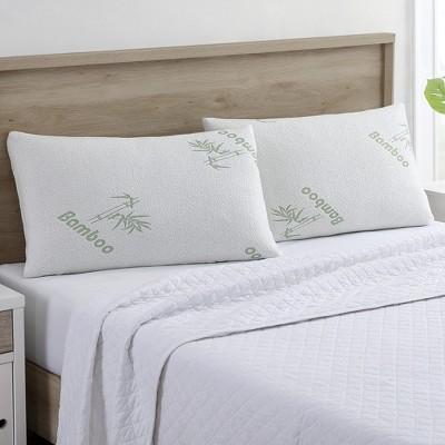 Modern Threads Bamboo by Rayon Memory Foam Pillow.