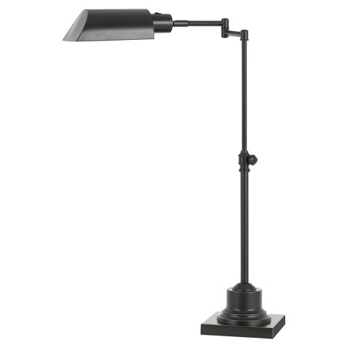 Integrated Led Adjustable Pharmacy Desk Lamp 10w Bronze (Includes Energy Efficient Light Bulb) - Cal Lighting - image 1 of 1