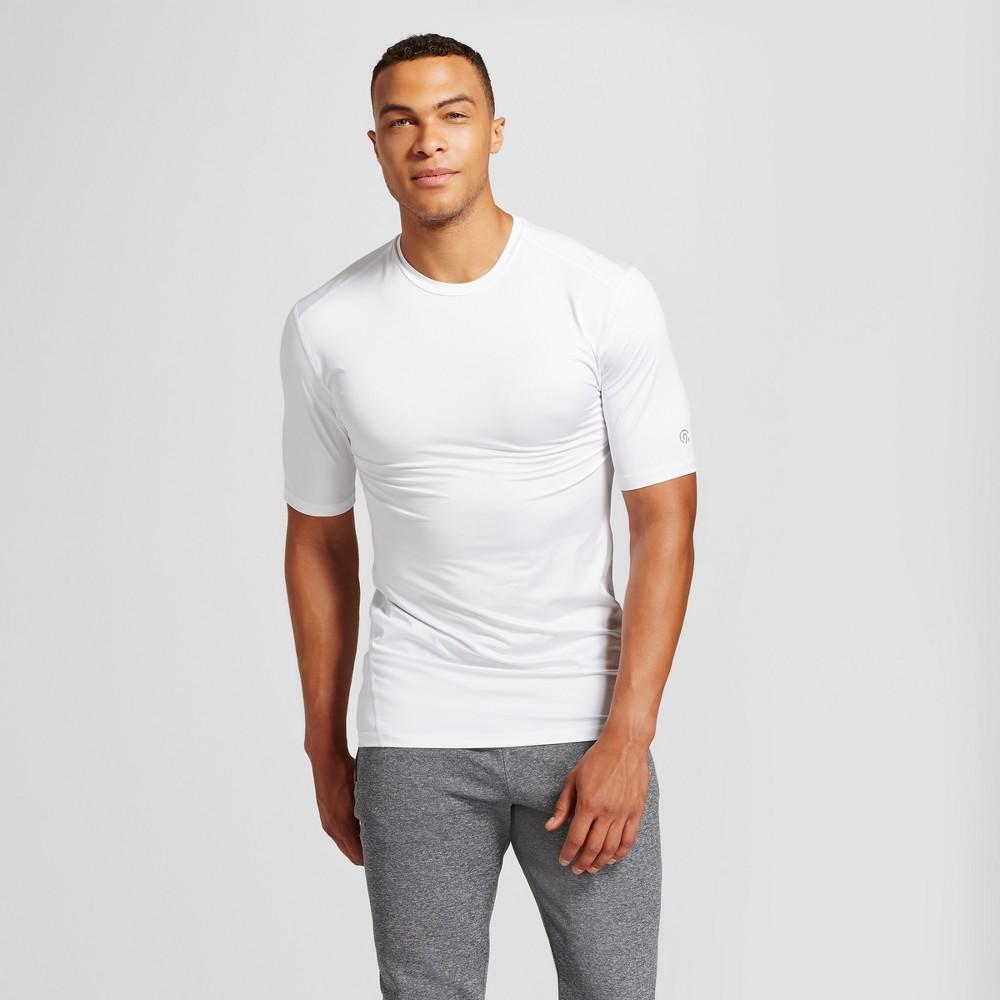Men's Big & Tall Powercore Shorts Sleeve T-Shirt - C9 Champion White 5XB
