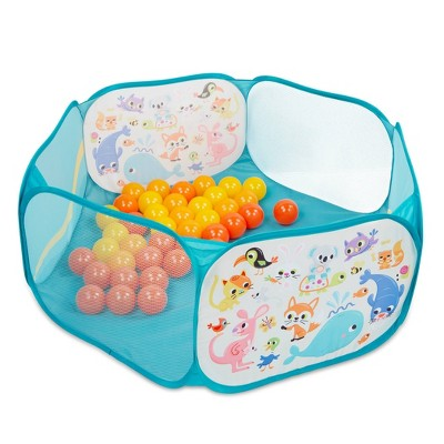 B. play - Ball Pit with Balls - Mini Playspace