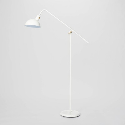 Cantilever Floor Lamp (Includes LED Light Bulb) White - Threshold™ designed with Studio McGee