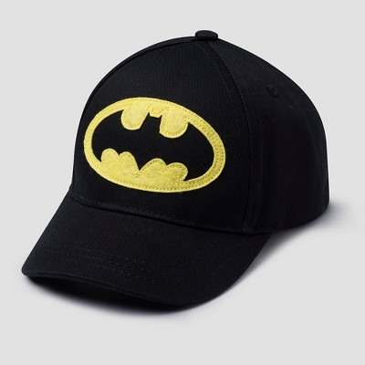 Toddler Boys' DC Comics Batman Baseball Hat - Black One Size