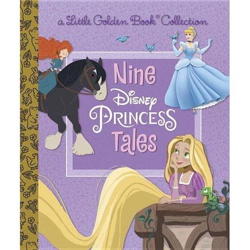 Nine Disney Princess Tales (Disney Princess) - (Little Golden Book Favorites) (Hardcover) - image 1 of 1