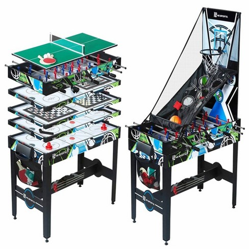 MD Sports 48 Inch 12 in 1 Combo Manual Scoring System Multi Game Room Table - image 1 of 4