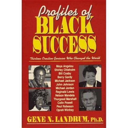 Profiles of Black Success - by  Gene N Landrum (Hardcover) - image 1 of 1