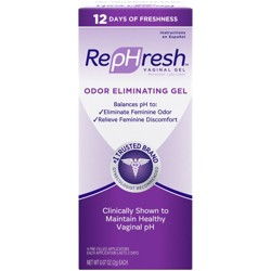 RepHresh Odor Eliminating pH Balancing Gel - 4ct