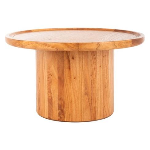 Devin Round Pedestal Coffee Table Safavieh Target