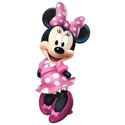 Minnie Bow-Tique Peel and Stick Giant Wall Decal