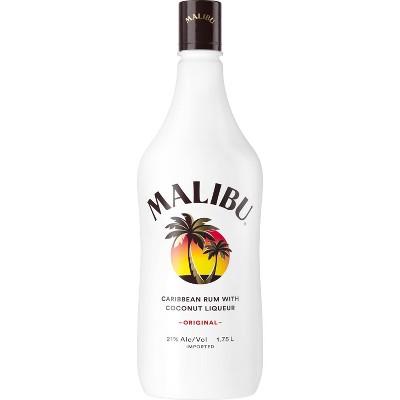 Malibu Coconut Caribbean Rum - 1.75L Bottle