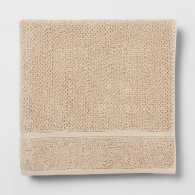 Performance Bath Sheet Tan Texture - Threshold™