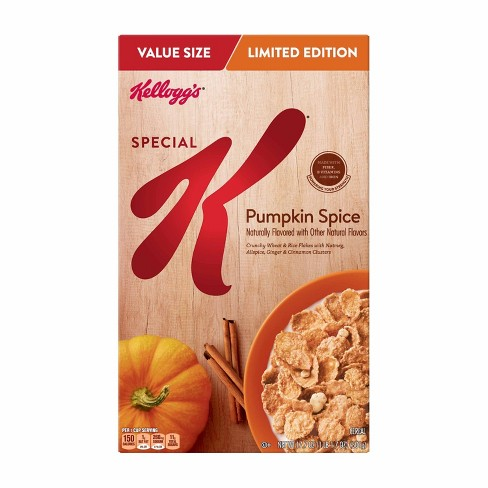 Special K Pumpkin Spice Breakfast Cereal - 17.7oz - Kellogg's - image 1 of 4