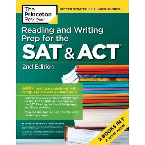 Reading and Writing Prep for the SAT & Act, 2nd Edition - (College Test  Preparation)(Paperback)
