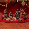 LB International 9-Piece Inspirational Holy Family and Three Kings Religious Christmas Nativity Set - image 2 of 2