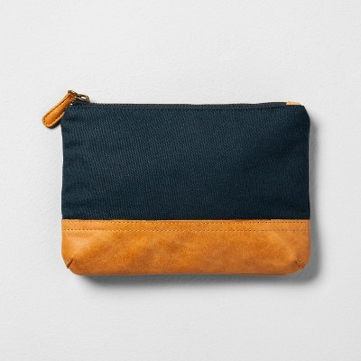 Cosmetic Clutch Blue - Hearth & Hand™ with Magnolia