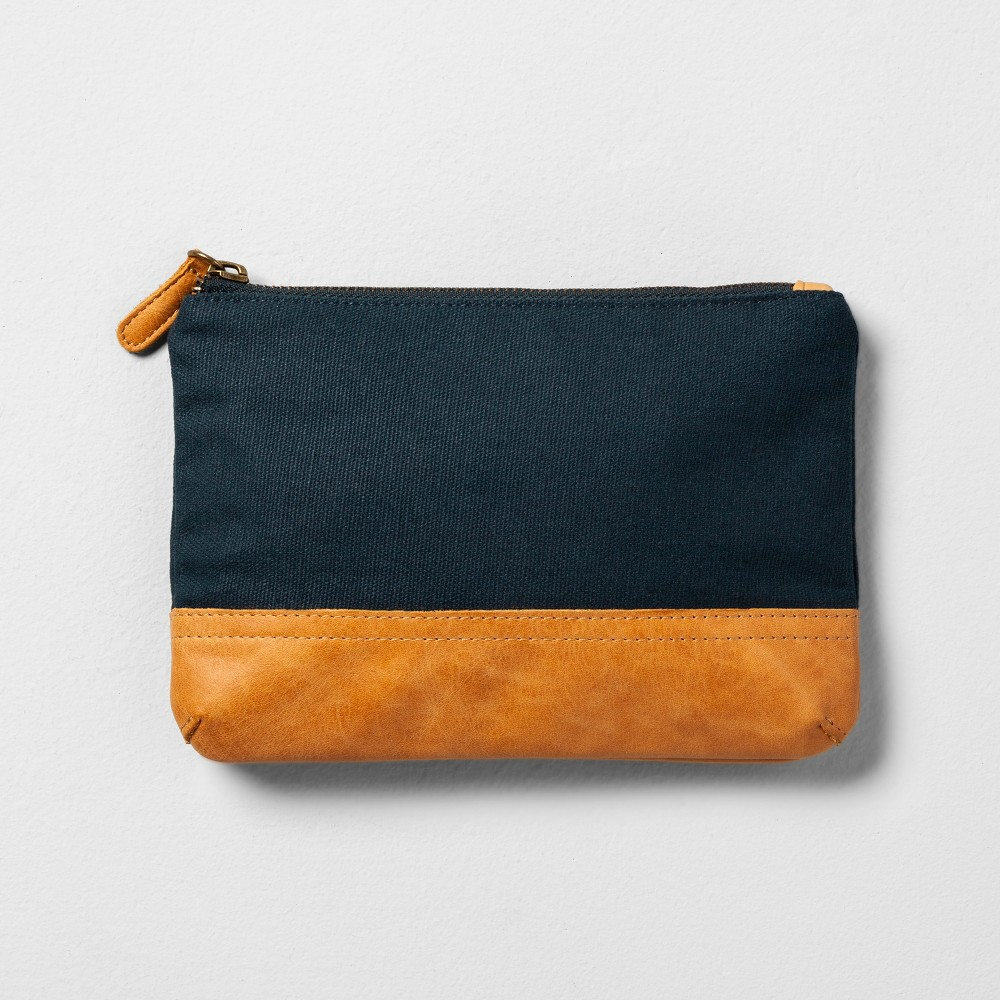 Cosmetic Clutch - Blue - Hearth & Hand with Magnolia