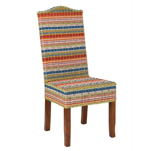 Set of 2 Heaton Rattan Dining Chair - East At Main - image 1 of 4