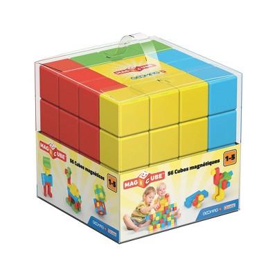 Geomag Magic Cube Preschool Magnetic Building Set 56pc