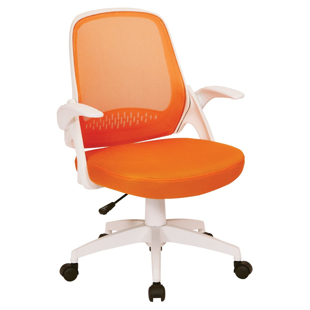 Jackson Office Chair Orange - Ave-Six