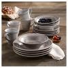 16pc Stoneware Dinnerware Set Gray - American Atelier - image 2 of 2