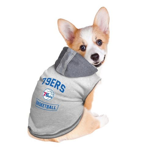 396e1d67650b Philadelphia 76ers Pet Hooded Crewneck Sweater S. Shop all NBA