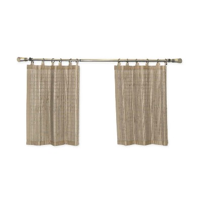 Versailles Patented Ring Top Bamboo Panel Series Tier Set Driftwood