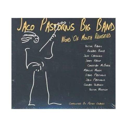 Jaco Big Pastorius - Word of Mouth Revisited (CD) - image 1 of 1