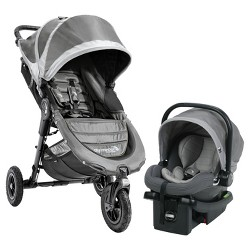 Baby Jogger City Mini GT Travel System - Steel Gray