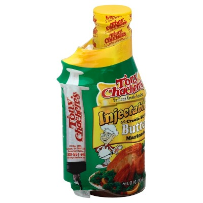 Tony Chachere's Creole Sauce Butter Marinade - 17 fl oz