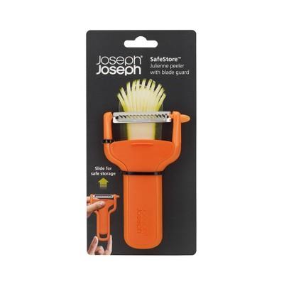 Joseph Joseph SafeStore Julienne Peeler - Orange