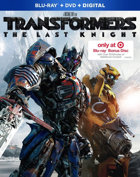 Transformers: The Last Knight Target Exclusive (Blu-ray + DVD + Digital) - image 1 of 1