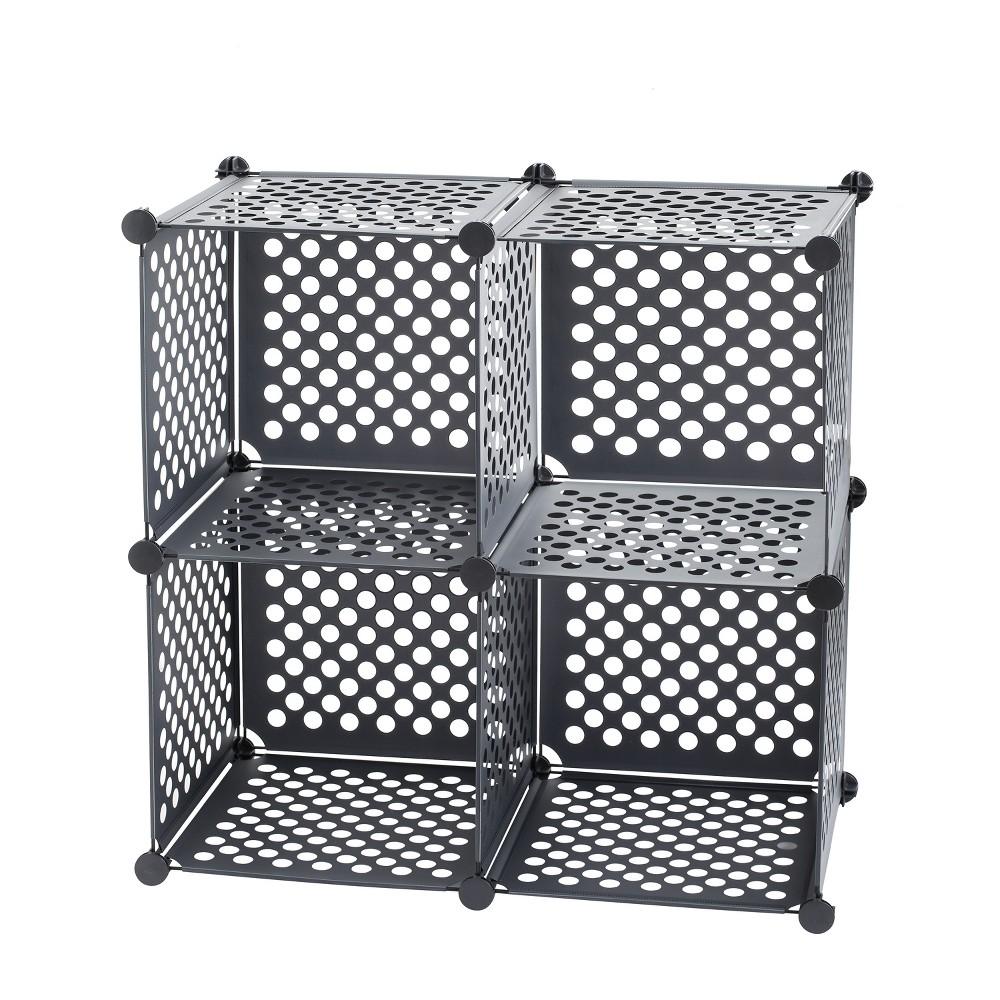 Image of Neu Home Modular Shelf Component Parts Black