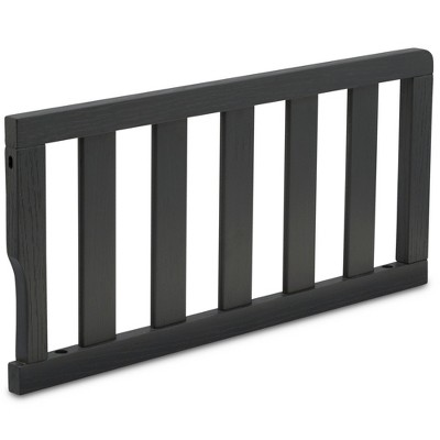 Delta Children Toddler Guardrail - Textured Midnight Gray