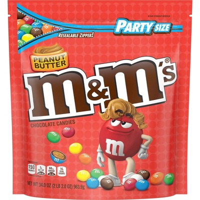 Chocolate Candies: M&M's Peanut Butter