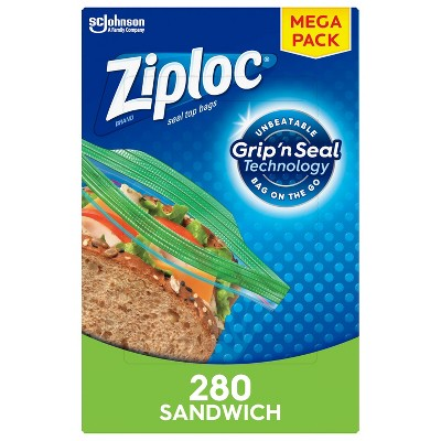 Ziploc Sandwich Bags - 280ct