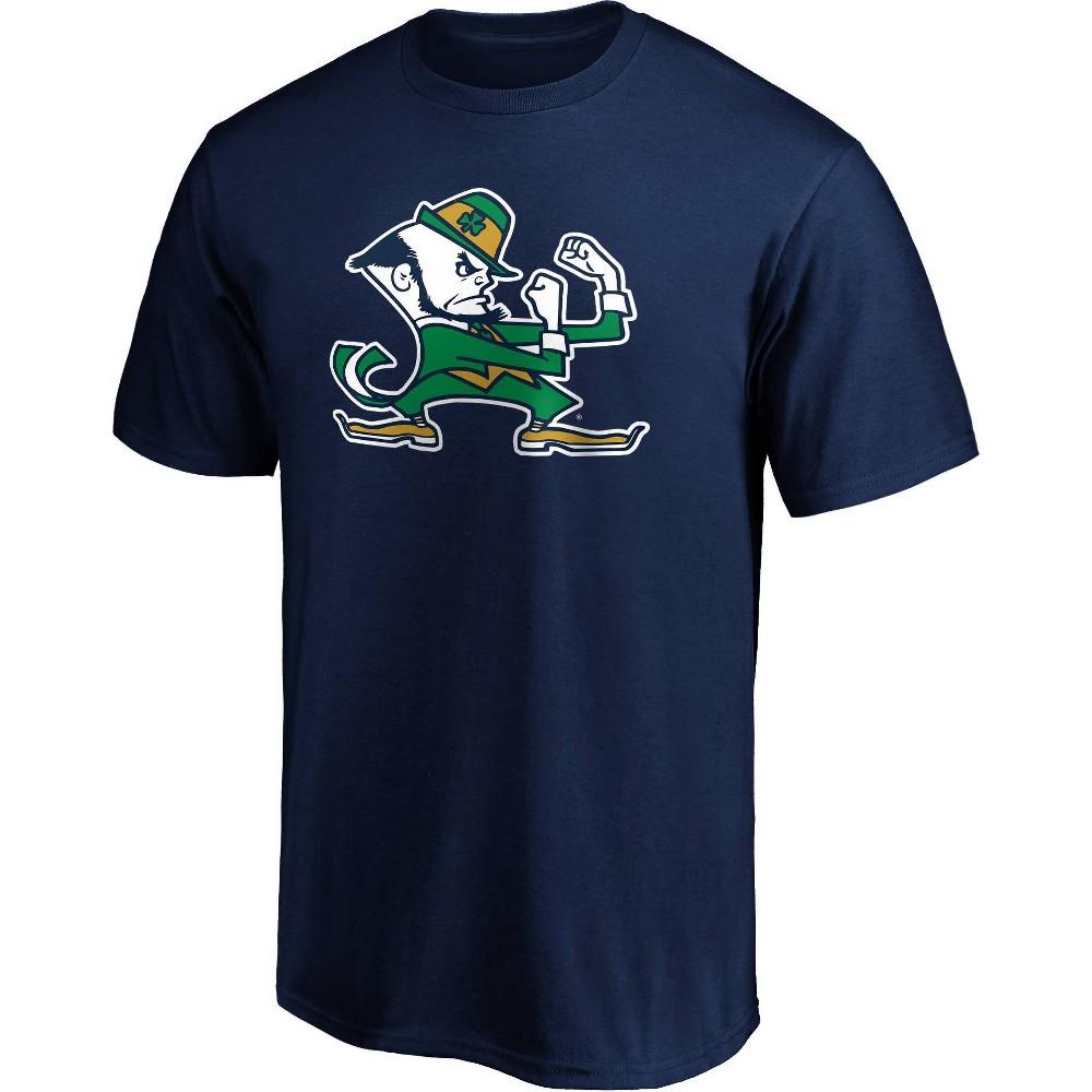 Ncaa Notre Dame Fighting Irish Men 39 S Short Sleeve Crew Neck Core T Shirt S