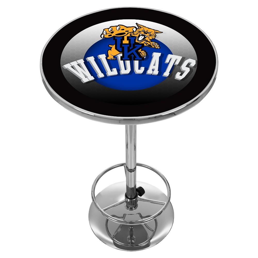 NCAA Kentucky Wildcats Chrome Pub Table - Honeycomb