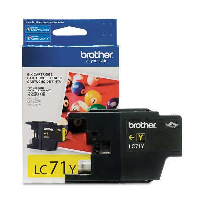Brother LC71Y Innobella Ink Yellow