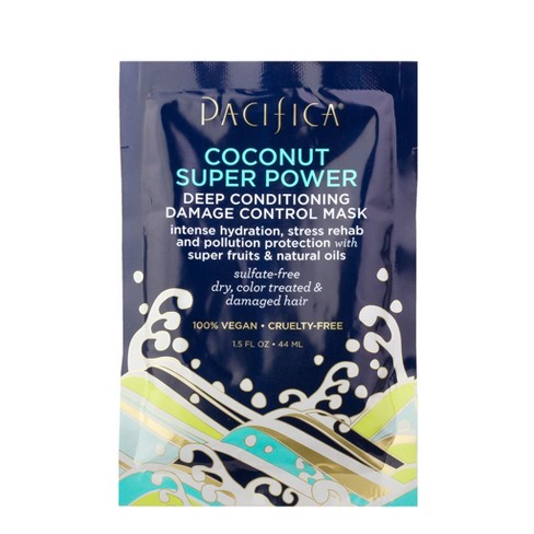 Pacifica Coconut Super Power Deep Conditioning Damage Control Mask - 1.5 fl oz - image 1 of 1