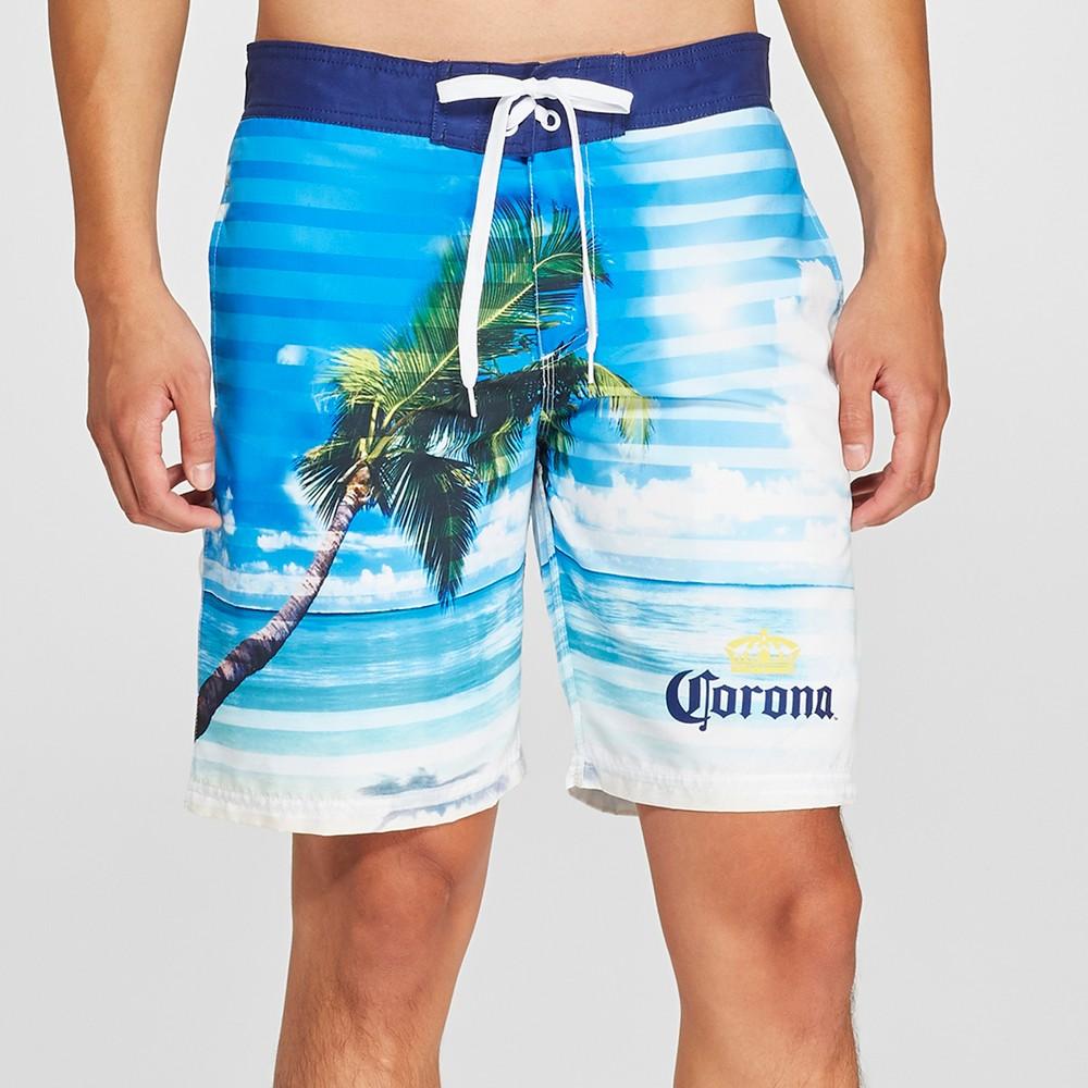 Men's 9.5 Corona Board Shorts - Blue M