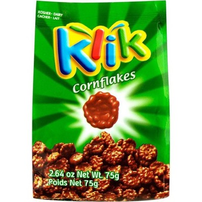 Klik Chocolate Covered Corn Flakes - 2.64oz