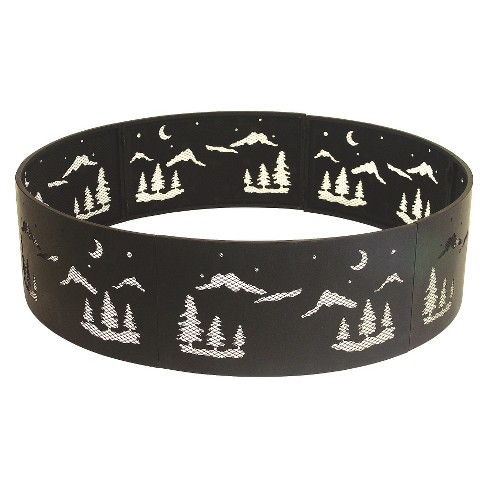 "Forest Scene 36"" Fire Ring - Black - image 1 of 3"