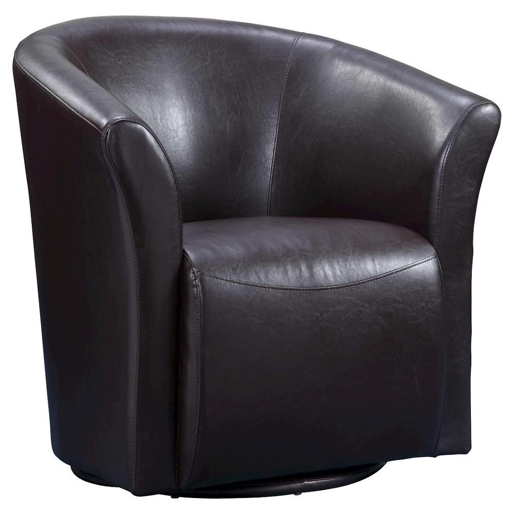 Reese Swivel Chair Brown - Picket House Furnishings
