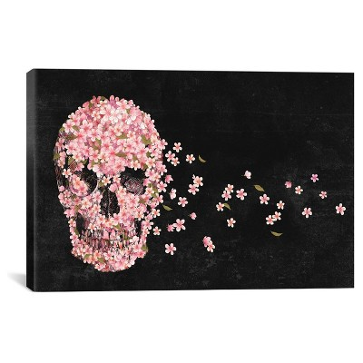 A Beautiful Death Landscape by Terry Fan Canvas Print