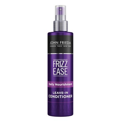 Frizz Ease John Frieda Daily Nourishment Leave-in Conditioner for Frizz-prone Hair - 8 fl oz