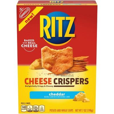 Ritz Cheese Crispers Cheddar - 7oz