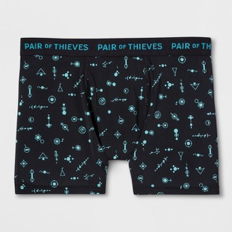 Pair of Thieves Men's SF Is This Chemistry Boxer Briefs - Black S